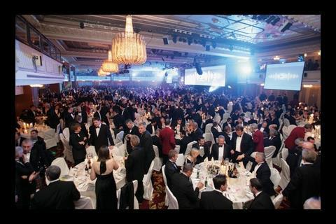 About 1,700 guests descended on the Great Room at the Grosvenor House Hotel on Park Lane last Tuesday evening.